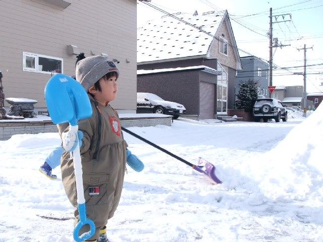 1月25日 楽しい雪かき