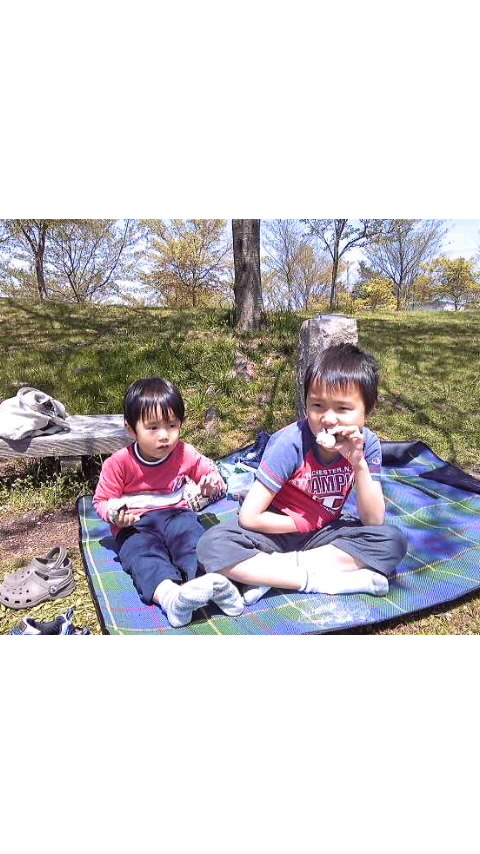 4月25日 ミニピクニック♪