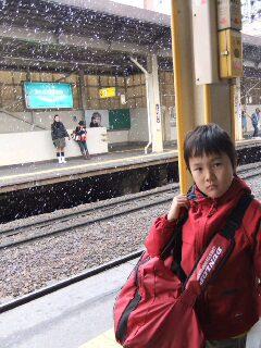 4月3日 札幌から滋賀へ。
