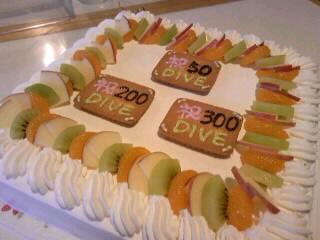 特大ケーキ♪